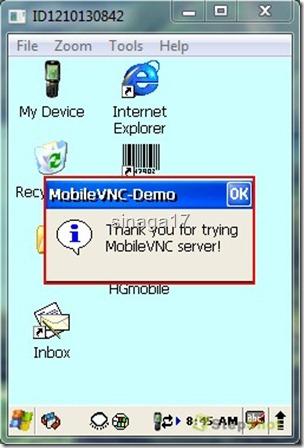 VNC Windows CE 12