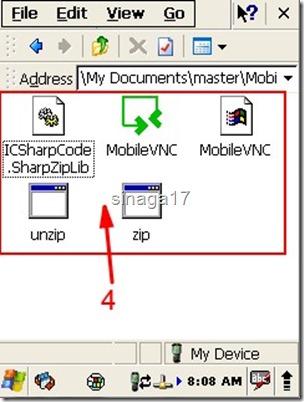 VNC Windows CE 4