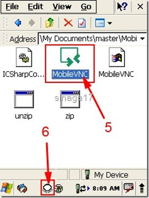 VNC Windows CE 5