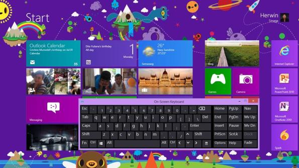 shortcut keyboard windows 8