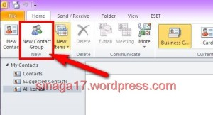 Cara import contact email dari excel ke outlook (2)