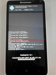 Ganti Rom Lenovo S890 (9)