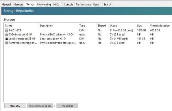 storage repository